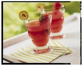 Ponche de limón y fresas: Que sabores más refrescantes que la mezcla de...