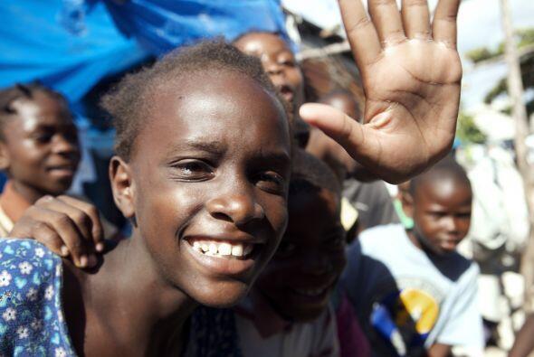 A ocho meses del terremoto que devastó a Haití, los escomb...