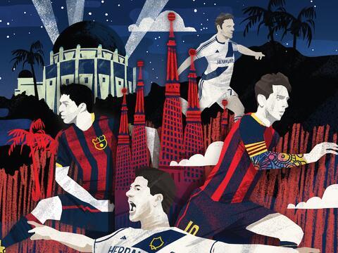 Gira del Barcelona por Los Ángeles