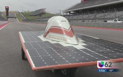Autos con energía solar competirán en el Circuito de las Américas