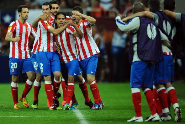 El Atlético sorprendió de entrada.