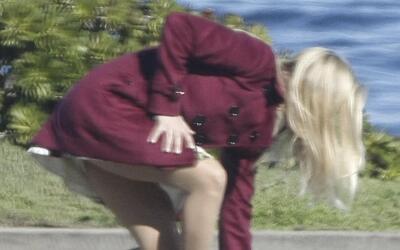Reese Witherspoon filmando su más reciente película.