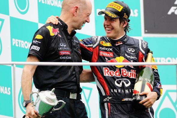 Sin embargo, el equipo Red Bull es claramente el favorito para repetir,...
