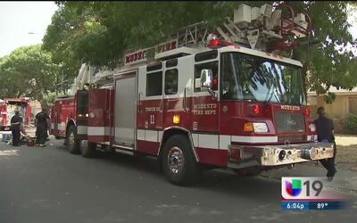 Ya suman siete los incendios sofocados en Modesto