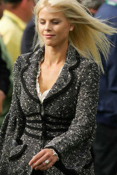 La bella modelo sueca se quedó con la custodia de los hijos de la pareja...