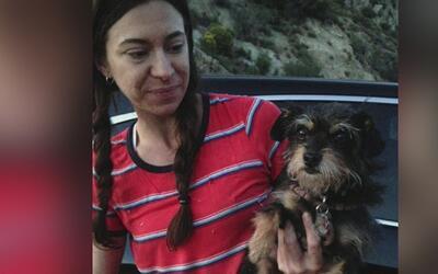 Rescatan a una mujer senderista y su perro, atrapados en una ladera de B...