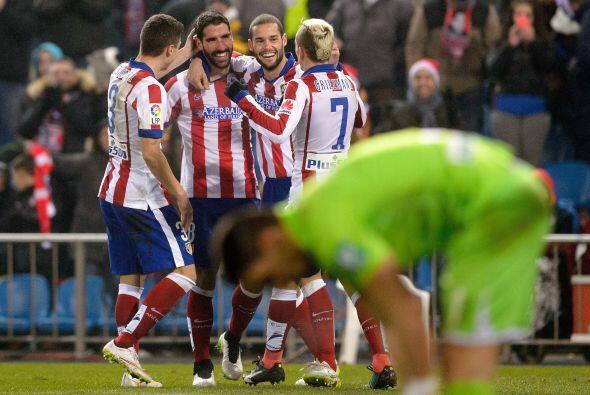 Con este triunfo el Atlético se mantiene cerca de los primeros sitios de...