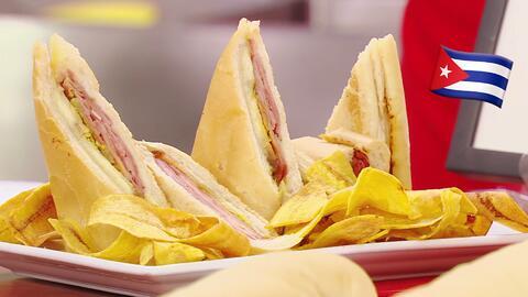 Hoy es el Día Nacional del Sándwich Cubano, y lo celebramos con uno giga...