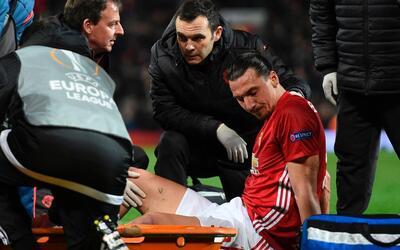 El Manchester United anunció que el sueco sufrió rotura de...