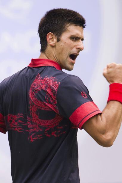 Número 3: El encantador serbio Novak Djokovic con su 1.88 metros de esta...