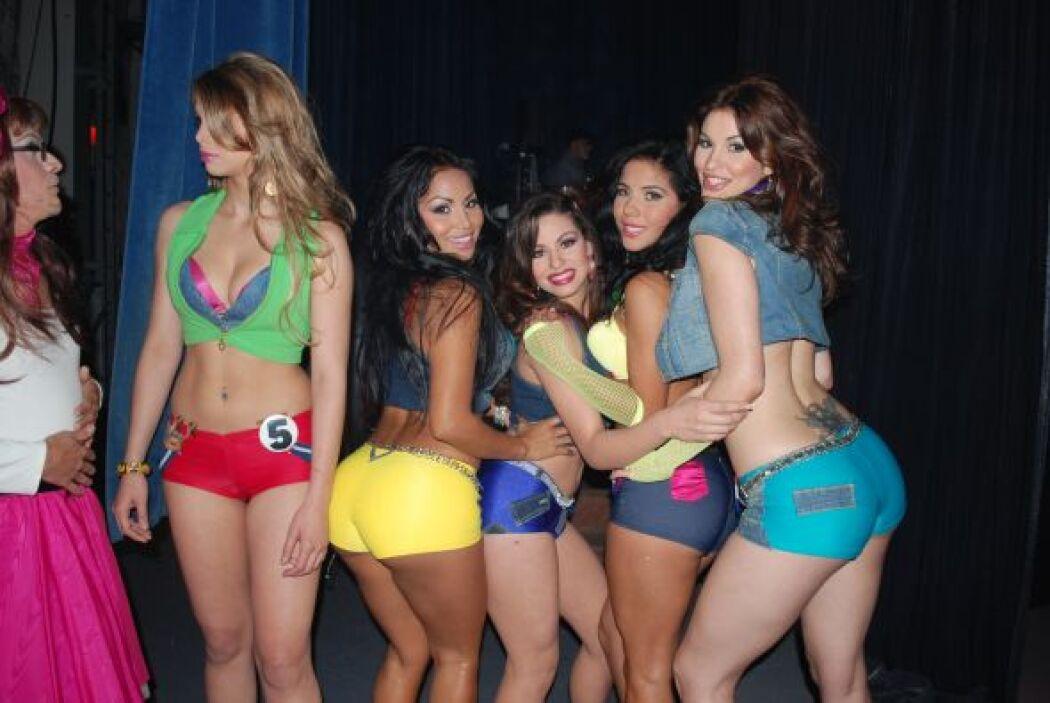 Ellas posaron para los usuarios de Univision.com
