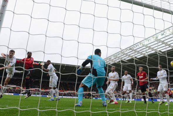 Pero el primer gol del juego fue a favor de la visita.
