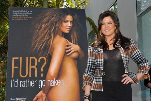 La menor de las Kardashian ha trabajado duro para perder lo que su cuerp...