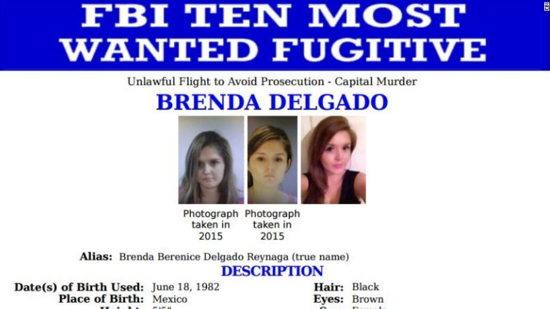 Brenda Delgado entre las más buscadas del FBI
