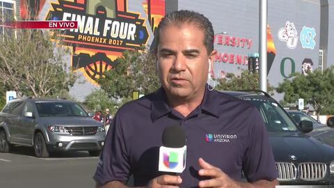 Locura en Phoenix por el Final Four