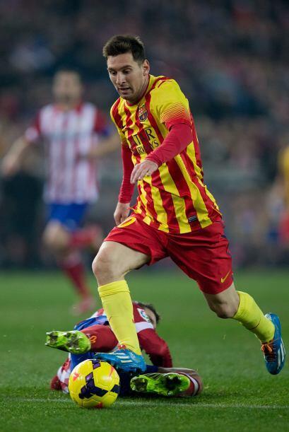 En la segunda parte entraron Messi y Neymar y el Barcelona ganó e...