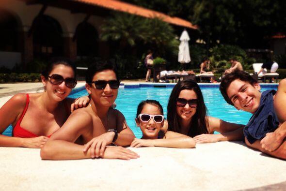 Maity Interiano de vacaciones