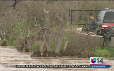 Alerta de evacuaciones voluntarias ante posibles inundaciones