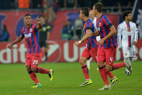 Finalmente, el Steaua Bucarest y el Basilea igualaron 1-1.