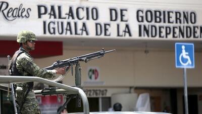El Ejército mexicano toma el control de Iguala