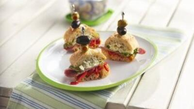 Mini sandwiches de salamiMini sandwiches de salamiMini sandwiches de sal...