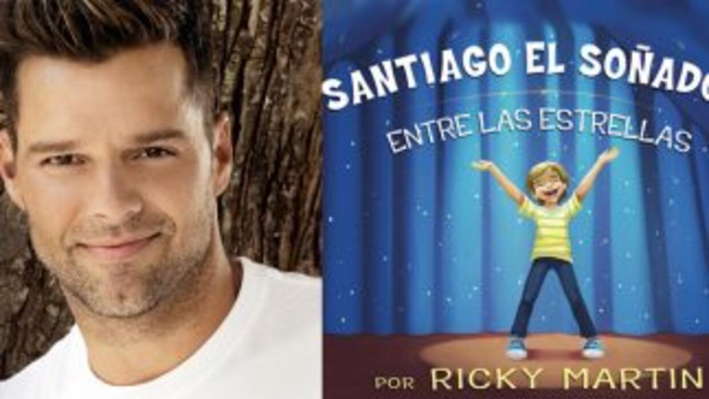 El libro infantil de Ricky Martin Santiago El Soñador Entre Las Estrella...