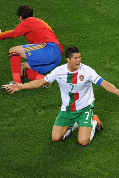 El Mundial representaba además una oportunidad para Cristiano de discuti...