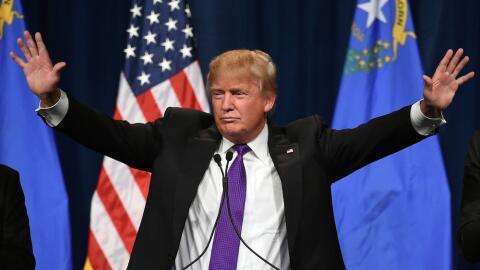 Trump gana el caucus de Nevada