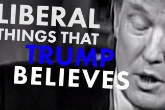 Captura del video de la campaña de Jeb Bush sobre Donald Trump