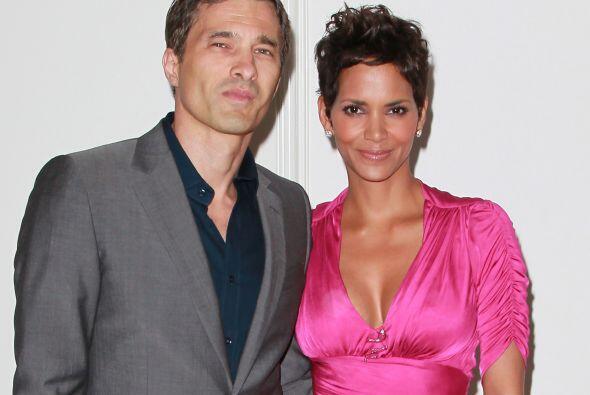 La actriz estadounidense Halle Berry y el  francés Olivier Martínez se u...