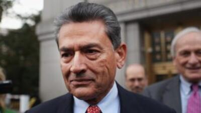 Gupta se había declarado no culpable en octubre pasado de los seis cargo...