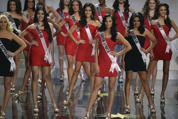 Todas las chicas demostraron ser aptas para llevarse la corona. Las lati...