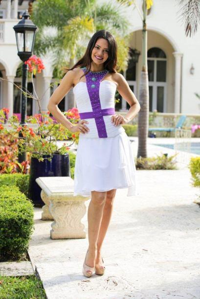 Alina está feliz porque en Nuestra Belleza Latina encontró...