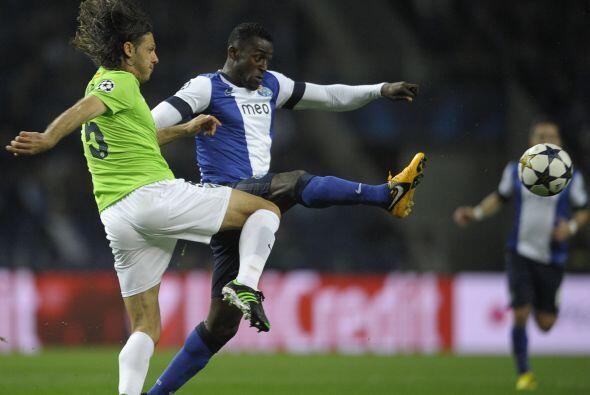 En el otro duelo del día, el Porto fungió como local ante el Málaga.