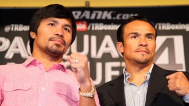 Manny Pacquiao y Juan Manuel Márquez se enfrenarían por reglamento.