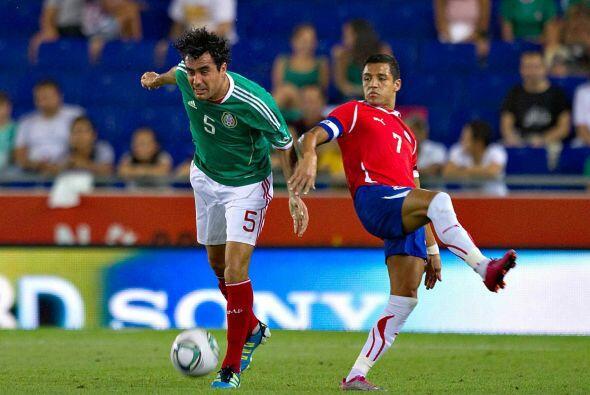8.- Los chilenos para este partido ante el equipo mexicano, solamente do...