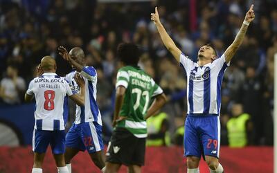 El Porto es líder en Portugal tras vencer 2-1 al Sporting Lisboa