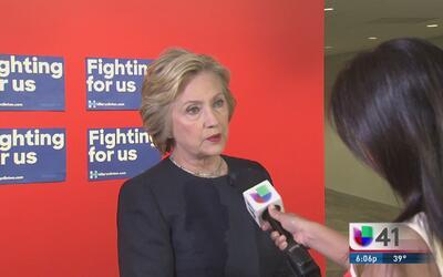 Hillary Clinton le pone fecha a la reforma migratoria