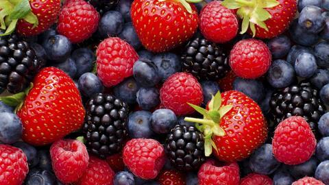 Un cuarto de nuestro plato debe estar lleno de fruta.