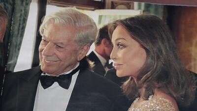 Difunden supuesto romance entre Vargas Llosa y la ex esposa de Julio Igl...