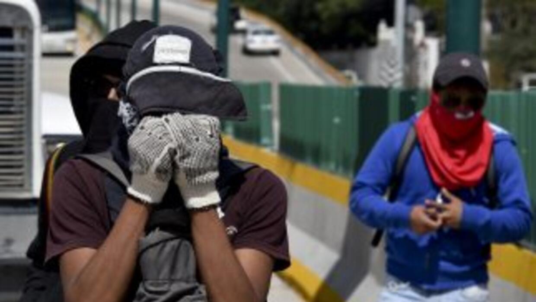 Al menos dos grupos distintos realizaron protestas en la localidad de Ch...