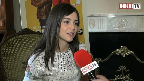 Camila Sodi regresa a actuar tras seis años