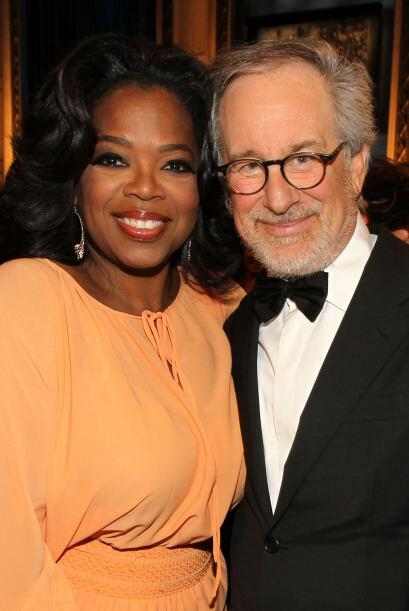 "Se reencontró con su director de ""The Color Purple"", Steven Spielberg, e..."
