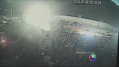 Mortífera estampida en México