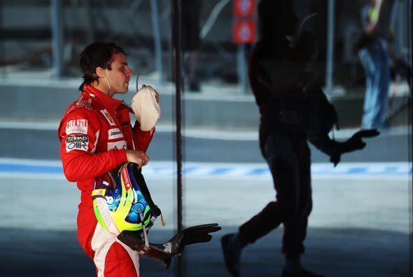 Alonso, quien ganó la primera carrera de la temporada, se está quedando...