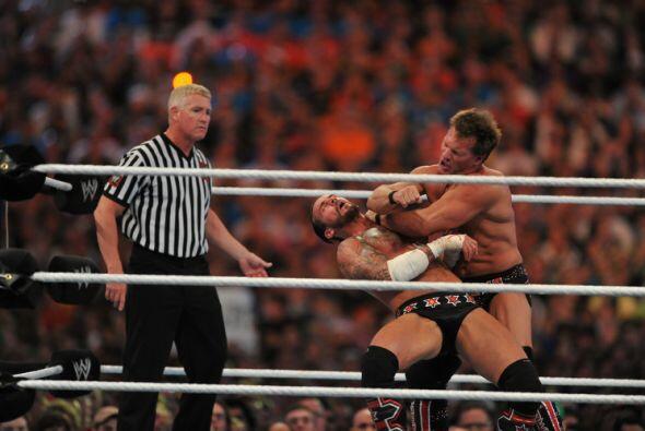 Luego Chris Jericho tuvo dominado por mucho tiempo a CM Punk.