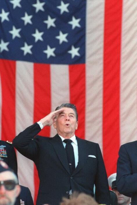Reagan fue el presidente más anciano en asumir la función. El republican...