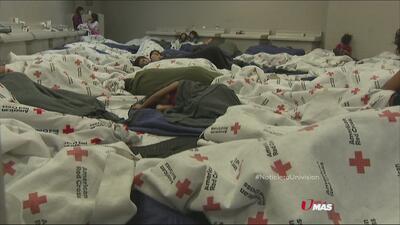 Las condiciones de los albergues de inmigración