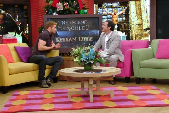 El actor Kellan Lutz, quien dará vida en el cine a 'Hércul...