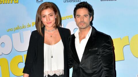 José Ron y su novia Daniela Álvarez.